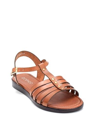 Derimod Kadın Sandalet (107) Casual Taba